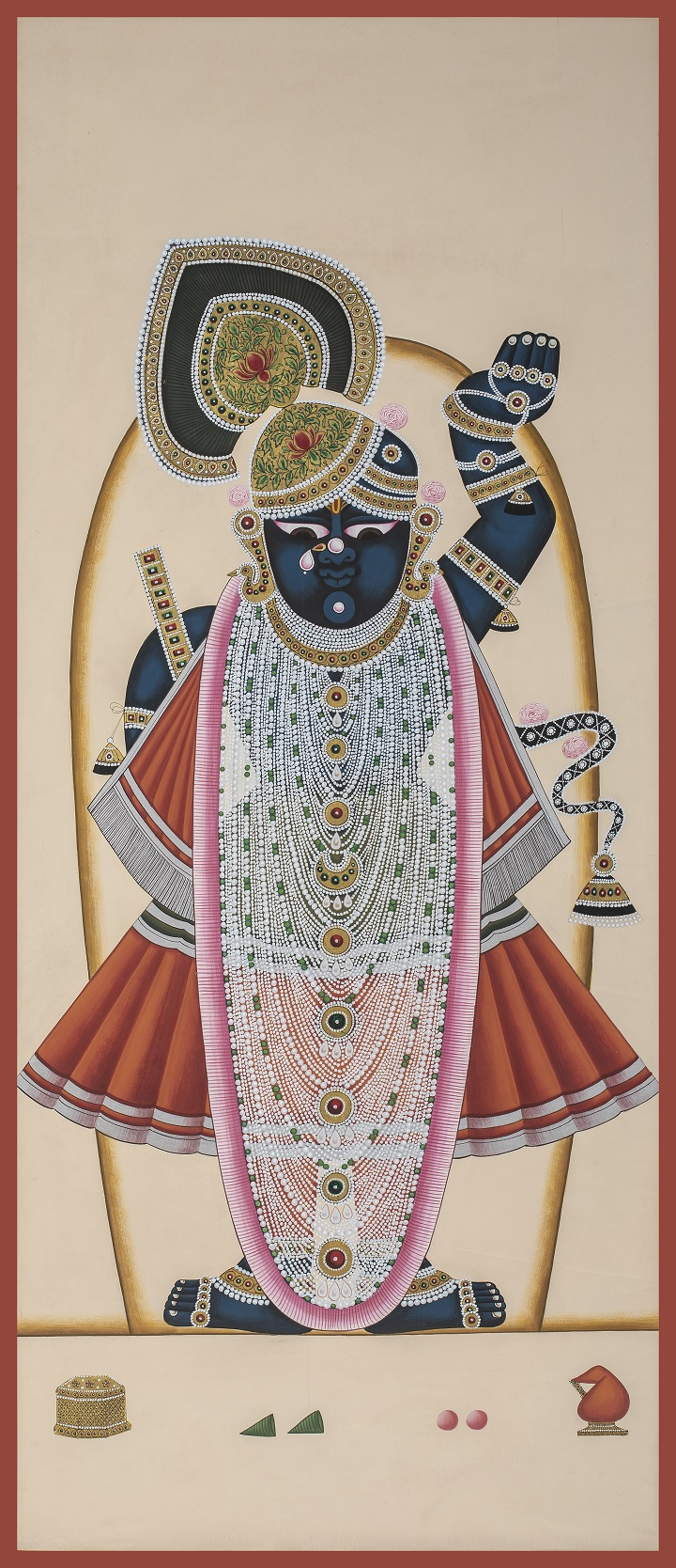 Pichvai Tradition & Beyond - Pichwai Deccan Cloth Painting